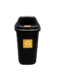 Kosz SORTBIN 45L Black-Yellow
